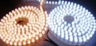 DIP LED Strip (vertical ribbon), white